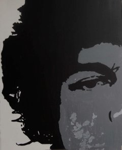 50x60 on wall Medium Spray Paint