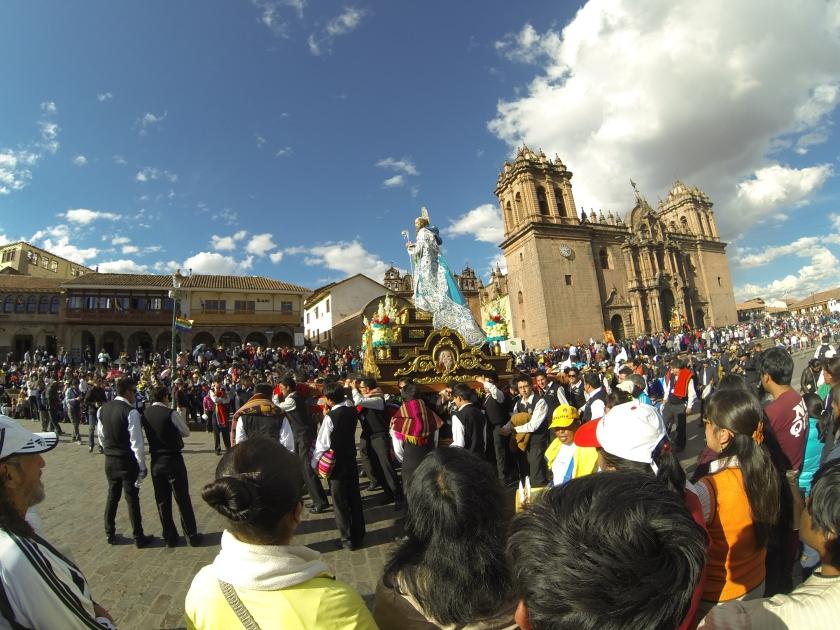 A celebration of the Saints.